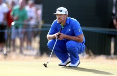Golfer gives up lead at $5.6m tournament as wife goes into labour