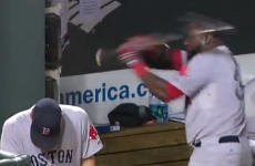 Red Sox baseball star annihilates phone after striking out