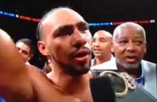 Boxer makes critical error by giving a big shout-out to the wrong city