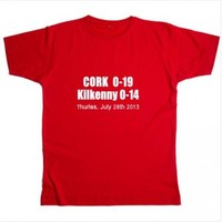 Cork hurling fans can buy this t-shirt commemorating yesterday's win over Kilkenny