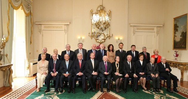 In pics: President Michael D Higgins concludes meeting with the Council of State