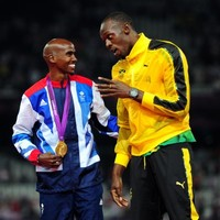 Mo Farah challenges Usain Bolt to 600m race of Olympic champions