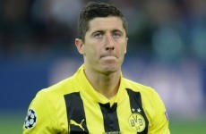 Lewandowski frustrated with Dortmund situation