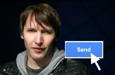 James Blunt accidentally emailed everyone in the UK