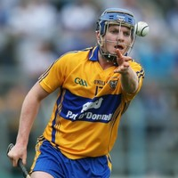 The Limerick native looking to fire Clare to victory in the All-Ireland semis