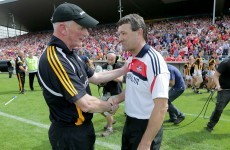 'Nothing is won': Brian Cody visited the Cork dressing room with an important message