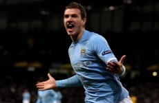 Manuel Pellegrini: Edin Dzeko is my main striker