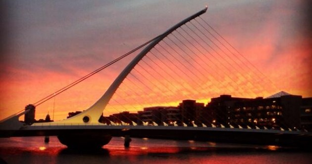 In pics: The sunset in Dublin was something special tonight