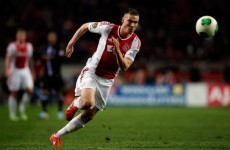 Celtic complete the signing of Dutch winger Boerrigter