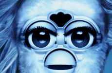 Huge pop album covers... as interpreted by Furbys