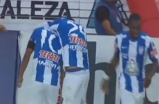 Mexican league player embarrasses 'keeper with beautiful chip from halfway line