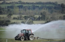 Good weather encourages Cheltenham officials to break out the hoses