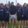 Snapshot: Munster's young guns swap notes with Dan Shanahan