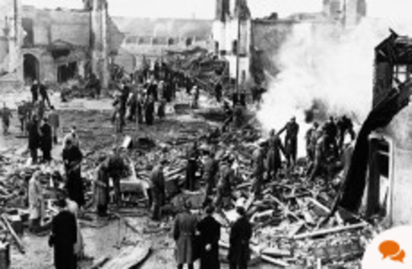 Extract: Ireland planned to ask the UK for help if Germany ...
