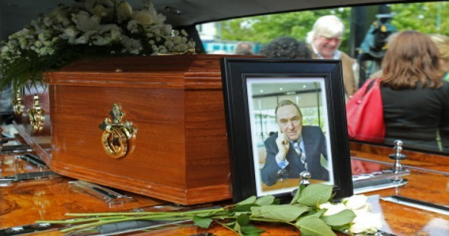 Pics: Colm Murray laid to rest in Dublin