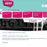 Heads up, students: SUSI extends deadline for grant applications until Monday