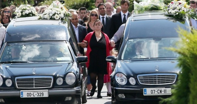 'They lived with joy and energy': Village united in grief at Chada brothers' funeral