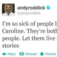 You tell 'em, Andy! It's the sporting tweets of the week