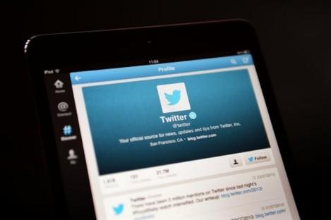 Twitter homescreen
