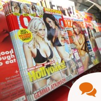 Column: Should 'lads mags' be in modesty bags?
