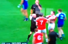 Tyrone down to 14 men after Penrose red-carded for punch