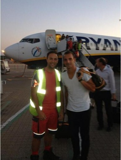 Spurs flew new £26million signing Roberto Soldado in on a budget Ryanair flight