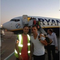 Spurs flew new £26million signing Roberto Soldado in on a budget Ryanair flight