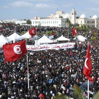 Two people killed in Tunisian violence