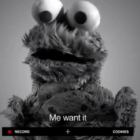 Cookie Monster covers Icona Pop, with wonderful results