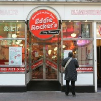 Thieves make off with Eddie Rocket's bank-drop cash