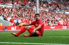 Luis Suarez out of Liverpool's Norway trip