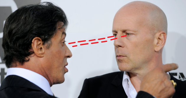 "The Dredge: Sylvester Stallone calls Bruce Willis ""greedy and lazy"""