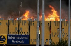 Huge fire closes Nairobi international airport