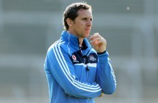 The ex-Clare hurler and 2006 Allstar who is now part of the Dublin backroom team