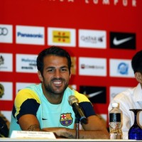 Sorry, Moyesey: Fabregas not ready to give up on Barca dream