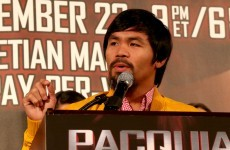 Mayweather shadow haunts Pacquiao before Rios bout
