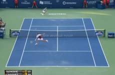 Gasquet spins Djokovic right round with remarkable shot
