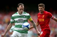 Celtic battle to victory over Liverpool at a sold-out Aviva Stadium