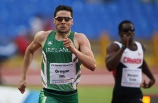 Brian Gregan qualifies for 400m semi finals