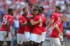 Van Persie brace hands United victory in the Community Shield
