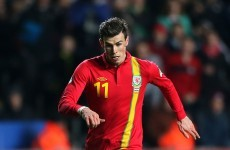 Gareth Bale set to miss Ireland friendly with foot injury