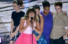 WATCH: Lea Michele dedicates Teen Choice Award to Corey Monteith