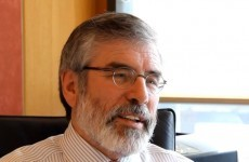 Is Gerry Adams giving up on Twitter?