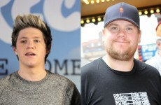 Niall Horan got James Corden's face tattooed on his a**e... it's The Dredge