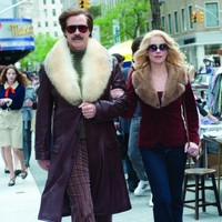Look at Ron Burgundy's new jacket in Anchorman 2!