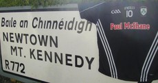 Paul McShane is sponsoring his old GAA club's jerseys