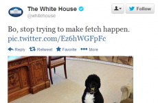 The White House had a Regina George moment this afternoon on Twitter