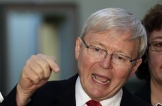 'No place' for sexism in Australia, says Rudd