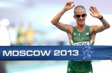 President Higgins hails Ireland's new world champion Rob Heffernan