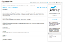 Limerick school posted five JobBridge ads, one looking for a cleaner
